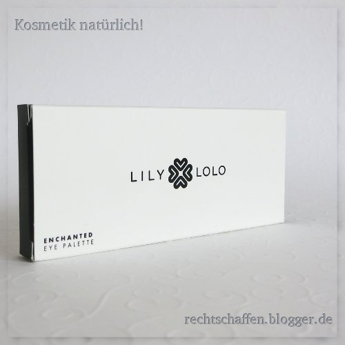 Enchanted Umverpackung | Lily Lolo Eye Palette Enchanted & Laid Bare