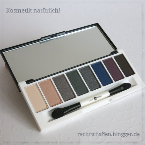 Enchanted Palette komplett aufgeklappt | Lily Lolo Eye Palette Enchanted & Laid Bare