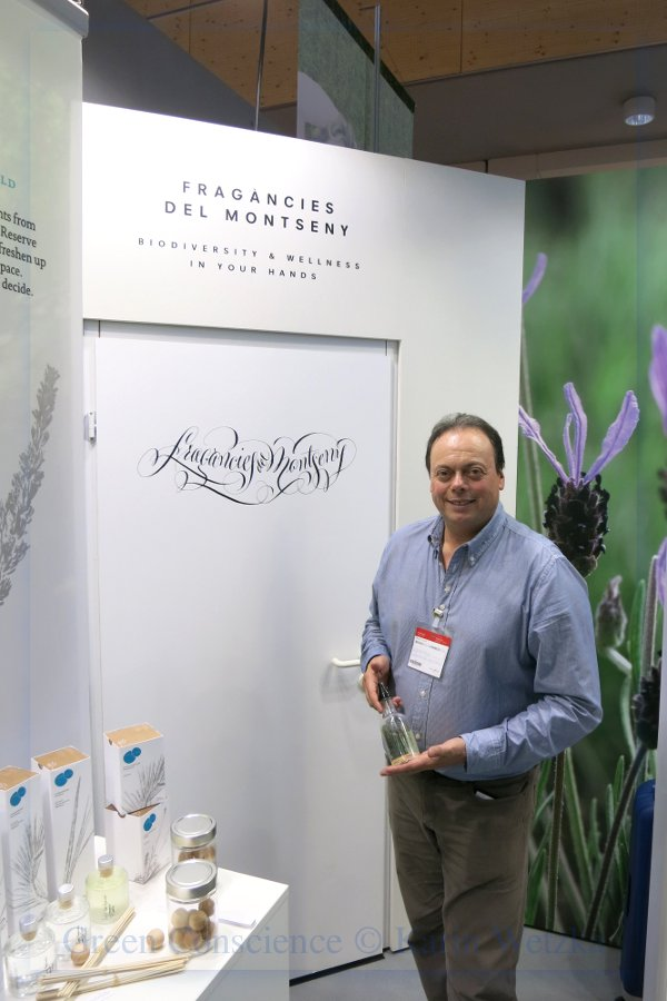 Roberto Eros, CEO and founder of Fragàncies del Montseny