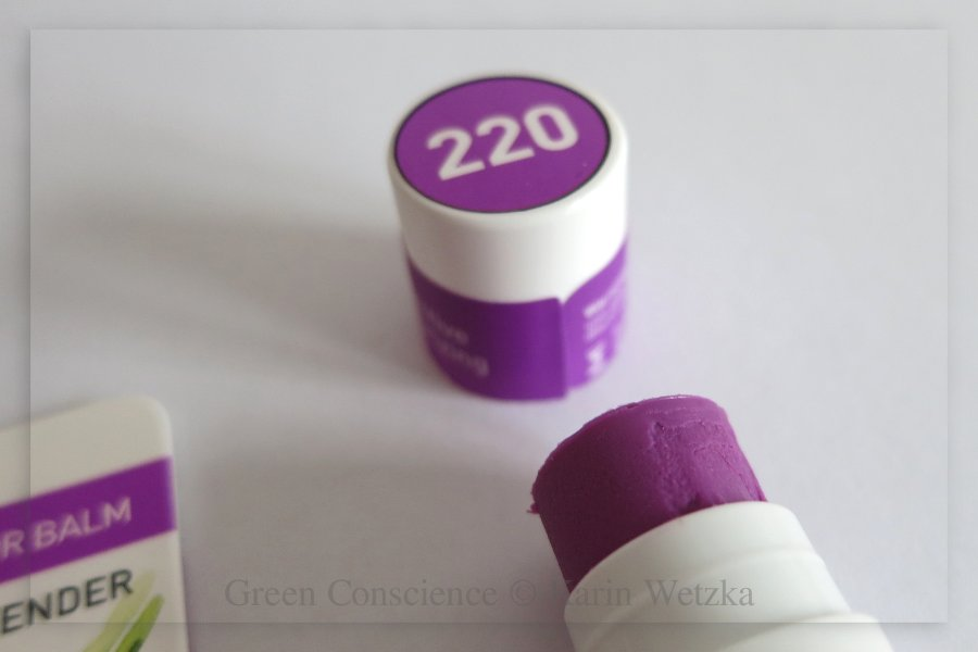 Dizao Organics Protective Moisturizing Color Lip Balm 220 Lavender Verpackung