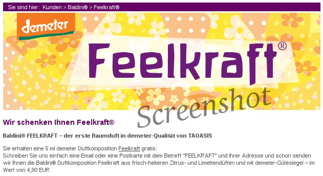 Feelkraft Screenshot