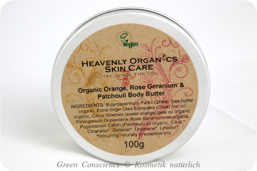 Heavenly Organics Body Butter