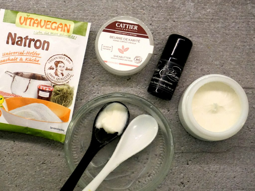 DIY Deo Skin & Bones Ingredients