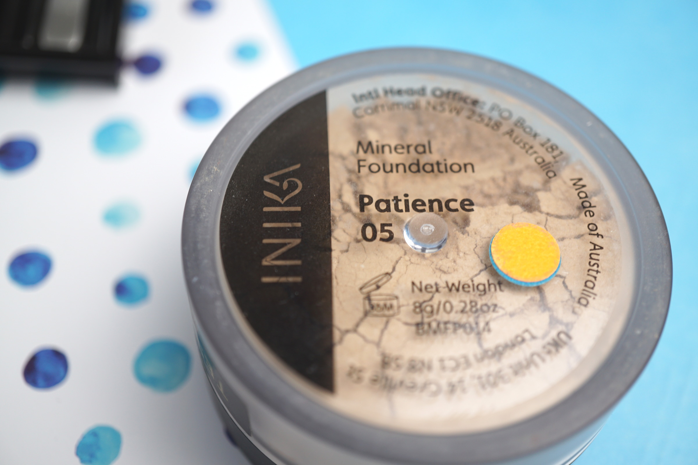 Inika Mineral Foundation 05 Patience