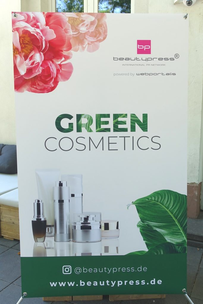 "Green Cosmetics BeautyPress Event im ""Le Panther"" Frankfurt/Main"